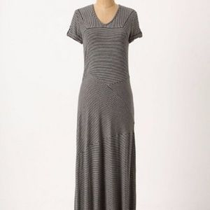 Anthropologie Deletta Linear Landscapes Maxi